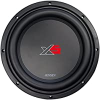 Jensen XS10 10 inch High Performance Subwoofer with a 2 inch Single Voice Coil and 1000 Watt Peak Power