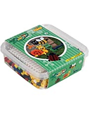 Hama 8744 pudełko prezentowe z Maxi, ogród, 600 pereł, kolorowe