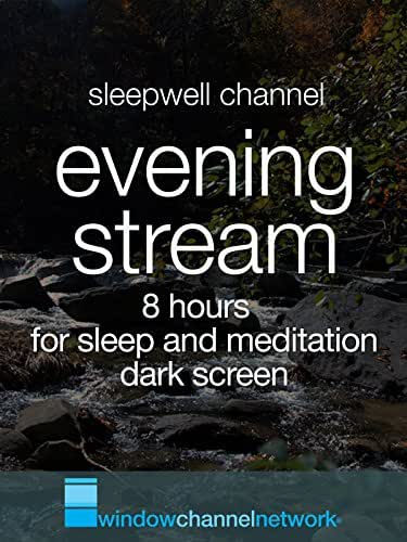 Evening Stream 8 hours for sleep and meditation, dark screen