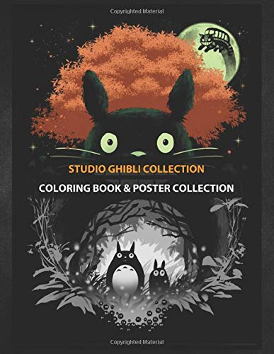 Coloring Book Poster Collection Studio Ghibli Collection The Neighbors Anime Manga Coloring Studioold Coloring Studioold 9781675167663 Amazon Com Books