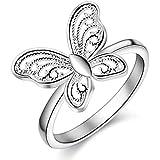 New fashion Silve women lady charm cute ring jewelry hot sale gift (8)