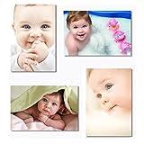"4x Babyhood Baby Kids Boys Child Cute Mother Mom Mama Pregnancy Wall Silk Poster Big Room Prints 20x13"" (50x33cm) E399(1-4)"