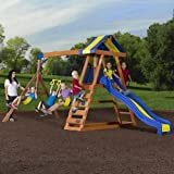 Playground. Swing Set. Playground Equipment For The Backyard.