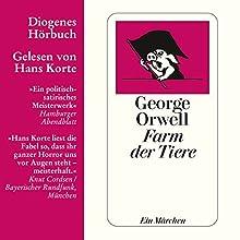 Farm der Tiere Hörbuch von George Orwell Gesprochen von: Hans Korte
