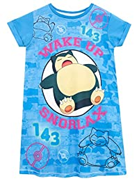 Pokemon Girls' Snorlax Nightdress Glow in The Dark