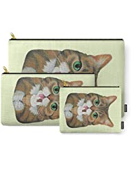 Society6 Lil Bub - Famous Cat Carry-All Pouch