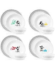 Corelle-Disney-Mickey-Mouse-The True Original, 12 Piece-Dinnerware Set