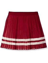 Tommy Hilfiger girls Big Girls Pleated Chiffon Skirt