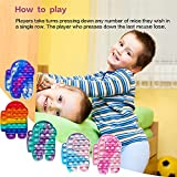 Push pop Bubble Fidget Sensory Toy, LEERUI Bubble