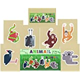 Gift Set of 2016 Animail M/S Stamp Presentation Pack and PHQ Cards (Set of 7 Royal Mail Postcards) by Royal Mail Presentation Pack and PHQ Cards