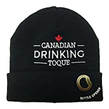 Canadian Drinking Toque (Black)