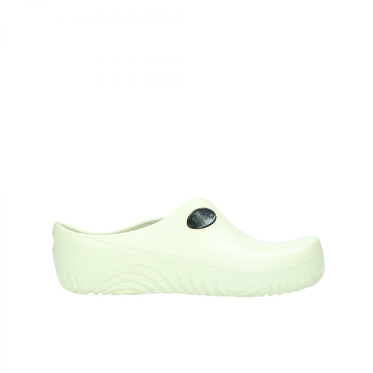Wolky Zuecos Comfort 02550 OK Clog 39 EU|90120 off-white PU