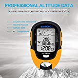 SUNROAD GPS Digital Waterproof Outdoor Altitude