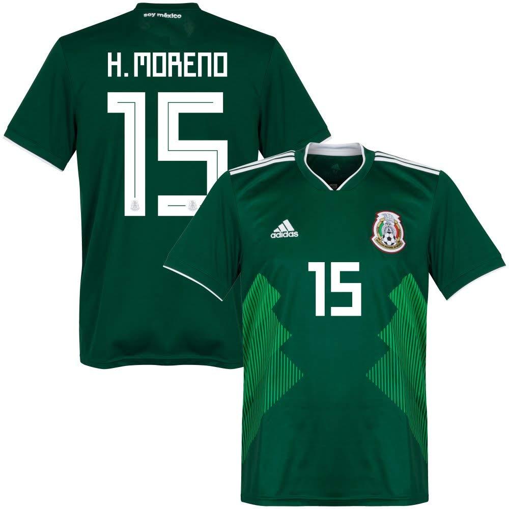 Mexiko Home Trikot 2018 2019 + H.Moreno 15 - M