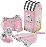 Baby Aspen Welcome Home Baby Layette Gift Set, Pink, 0-6 Months, 3-Piece