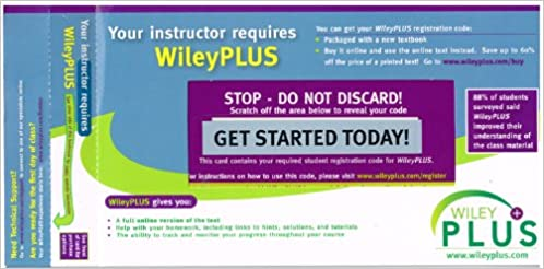 WILEY PLUS PROMOTIONAL CODE DOWNLOAD