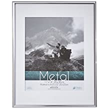 Timeless Frames Metal Document Frame, 8.5 by 11-Inch, Silver