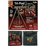 grill grate campfire tripod