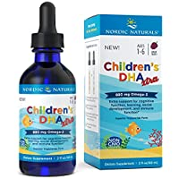 Nordic Naturals Children's DHA Xtra - Berry Flavored Omega-3 Fish Oil Supplement...