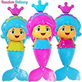 Aisikasi Baby Bath Toy Mermaid Wind Up Floating Water Toy Happy Time in Swimming Pool,Beach Bathing,Bath Tub - Color Random Delivery