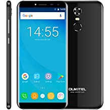 OUKITEL C8 2GB+16GB 5.5 inch Android 7.0 MTK6850A Quad Core up to 1.3GHz WCDMA & GSM (Black)