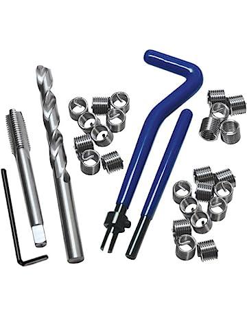 OUNONA 30pcs Kit de R/éparation de Filetage Kit M/étrique M8 Insertion Outil pour R/éparation Automobile