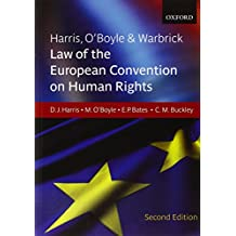 Harris, O'Boyle & Warbrick: Law of the European Convention on Human Rights