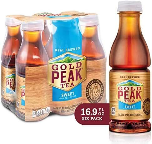 Gold Peak Sweetened Black Tea, 6 Count