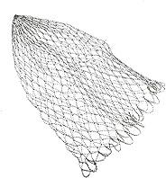 Carp Fishing Net Durable Mesh Landing Net Fly Fishing Replacement Dia 40/50/60cm