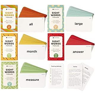 Think Tank Scholar Sight Words Flash Cards Bundle Pack (500+ Preschool, Kindergarten, 1st, 2nd & 3rd Grade Sight Words)