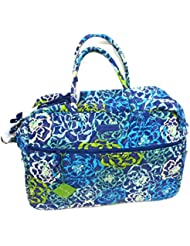 Vera Bradley Grand Traveler Updated with Solid Interior 14371