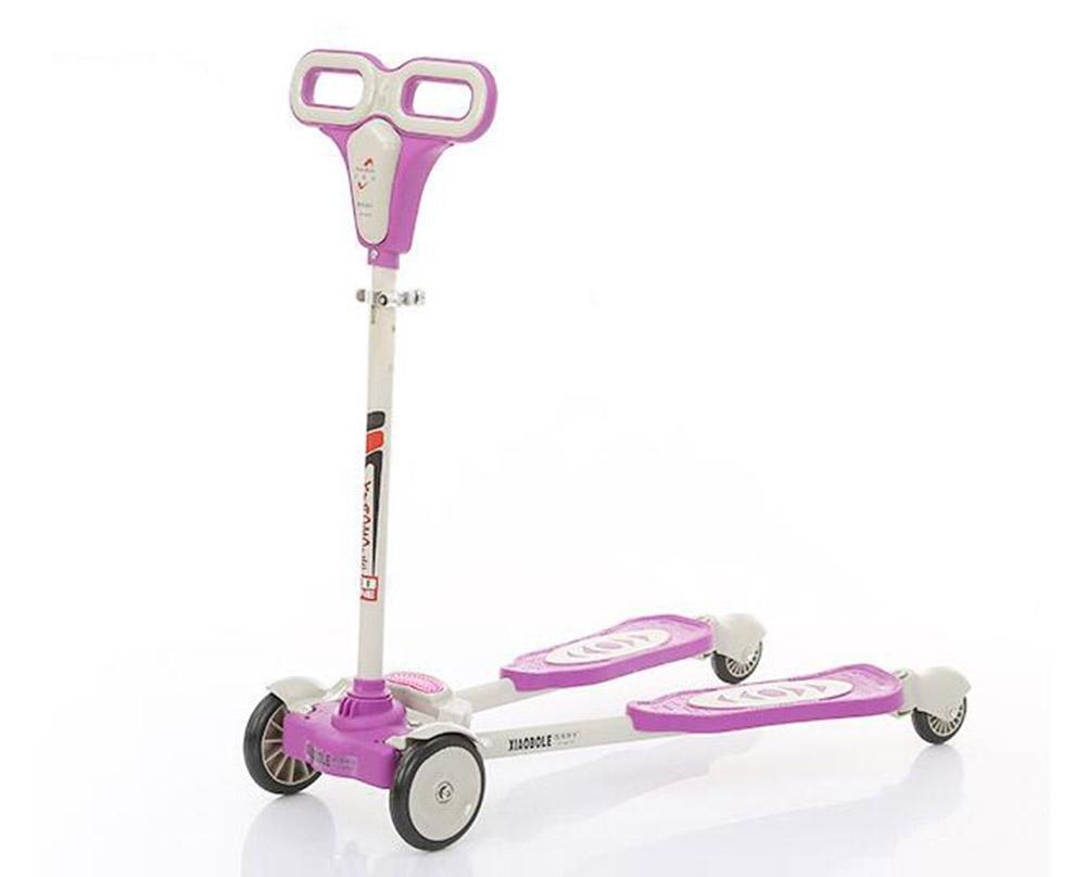 nueva gama alta exclusiva HJXJXJX HJXJXJX HJXJXJX Multicolor material opcional de plástico niños rana pedal scooter , purple  disfrutando de sus compras