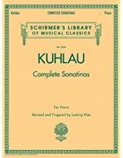 Kuhlau - Complete Sonatinas for Piano: Schirmer Library of Classics Volume 2065