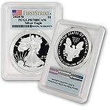 2020 W Silver American Eagle PR-70 PCGS