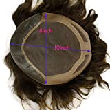 Rossy&Nancy Toupee for Men European Human Hair