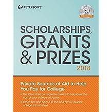 Scholarships, Grants & Prizes 2018