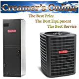 Goodman 3 Ton 14 SEER Heat Pump System with Multi-Position Air Handler GSZ140361/ARUF36C14