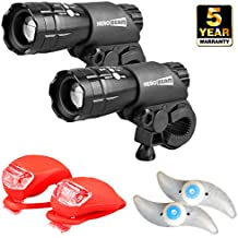 HeroBeam Bike Lights Double Set - Best Bike Headlight Under $50