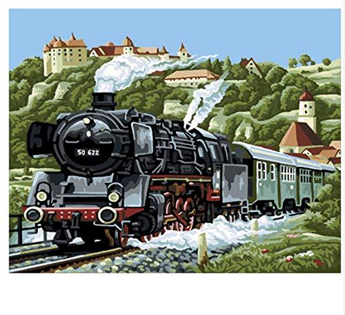 XIGZI DIY Malen Nach Zahlen Ölgemälde Wandkunst Bilder Dekoration Für Heimtextilien 40X50 cm,Mit Holzrahmen,C B07NWX54B7 | Online