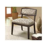 Monarch Specialties Swirl Fabric Accent Chair (I 8106), Tan