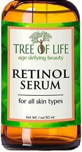 ToLB Retinol Serum - 72% ORGANIC - Clinical Strength Retinol Serum Face Moisturizer Cream for Anti Aging, Anti Wrinkle - Organic and Natural Ingredients - 1 oz