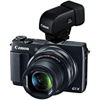 Canon PowerShot G1X Mark II Digital Point & Shoot Camera and EVF-DC1 Electronic Viewfinder