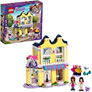 LEGO Friends Emma's Fashion Shop 41427, Includes Friends Emma and Andrea Buildable Mini-Doll Figures and a Ran
