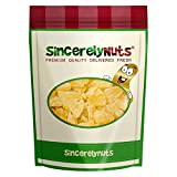 Sincerely Nuts Dried Pineapple Chunks - One (1) Lb. Bag - Beyond Delicious - Astounding Freshness - Bursting with Wholesome Nutrients - Kosher Certified