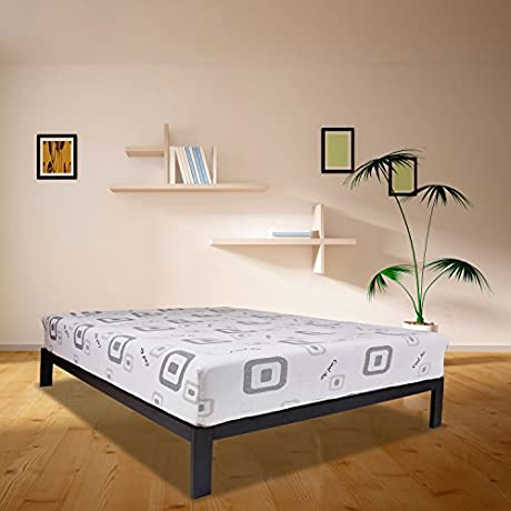 Wolf Corp Composure 11 Hybrid Mattress With Latex And Wrapped Coil Innerspring Queen Bed In A Box Made In The USA