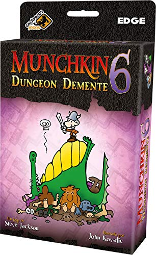 Munchkin 6: Dungeon Demente - Galápagos Jogos