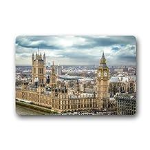 Architectural Landscape Westminster Palace Big Ben London Non-slip mats doormat