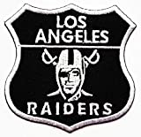 Raiders Los Angeles Patches Sport Team Logo Sign