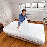 PEELAWAYS Disposable Bed Sheets Fitted for Beds