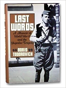 Last Words: A Memoir
